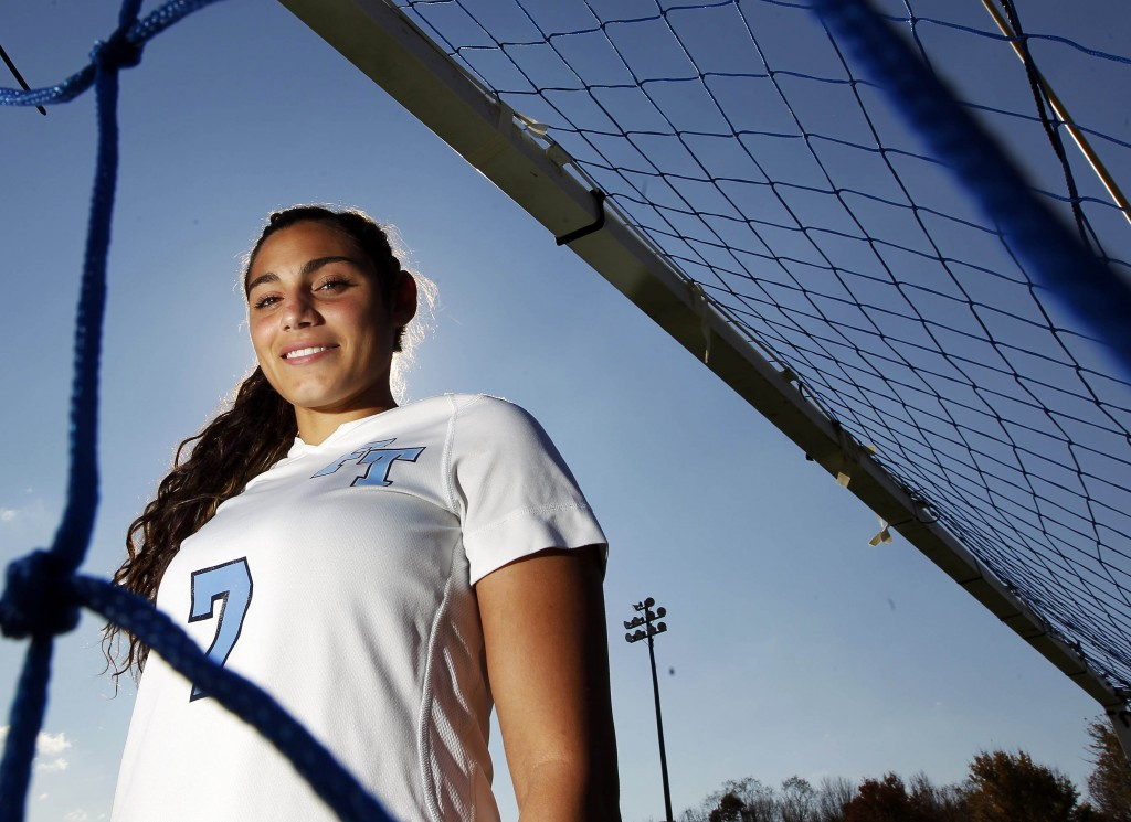 Freehold Township High School girls soccer player Gabby Galanti