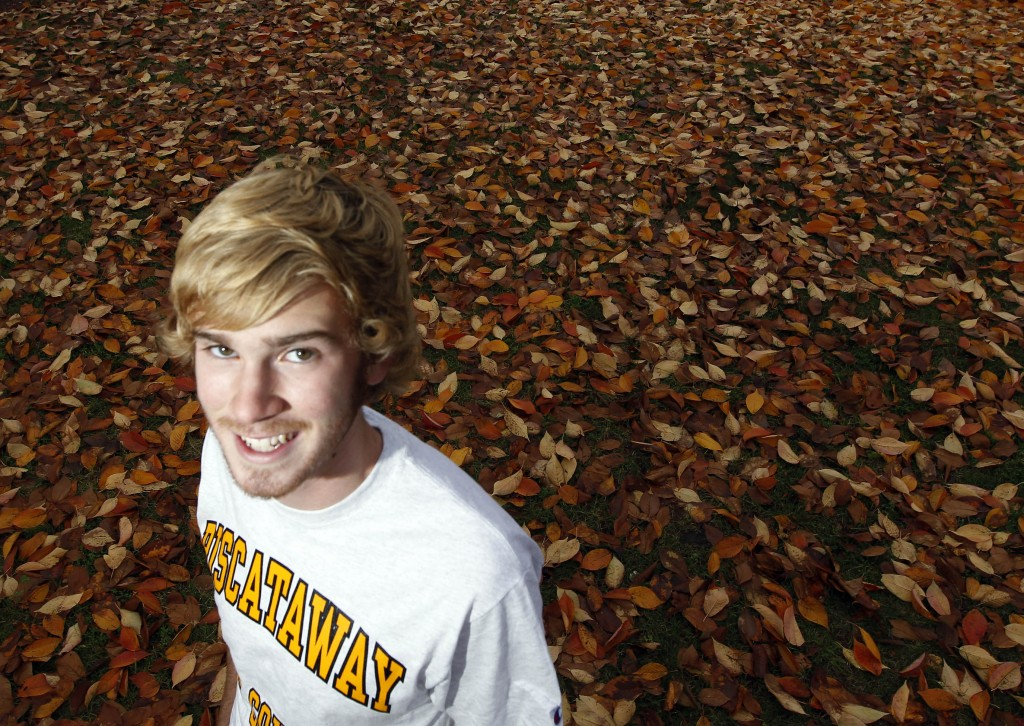 Piscataway High cross country runner Tim Ball