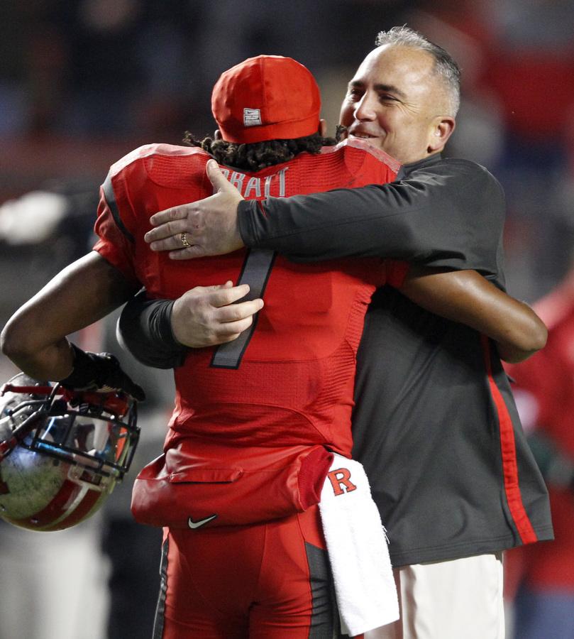 Rutgers versus University of South Florida