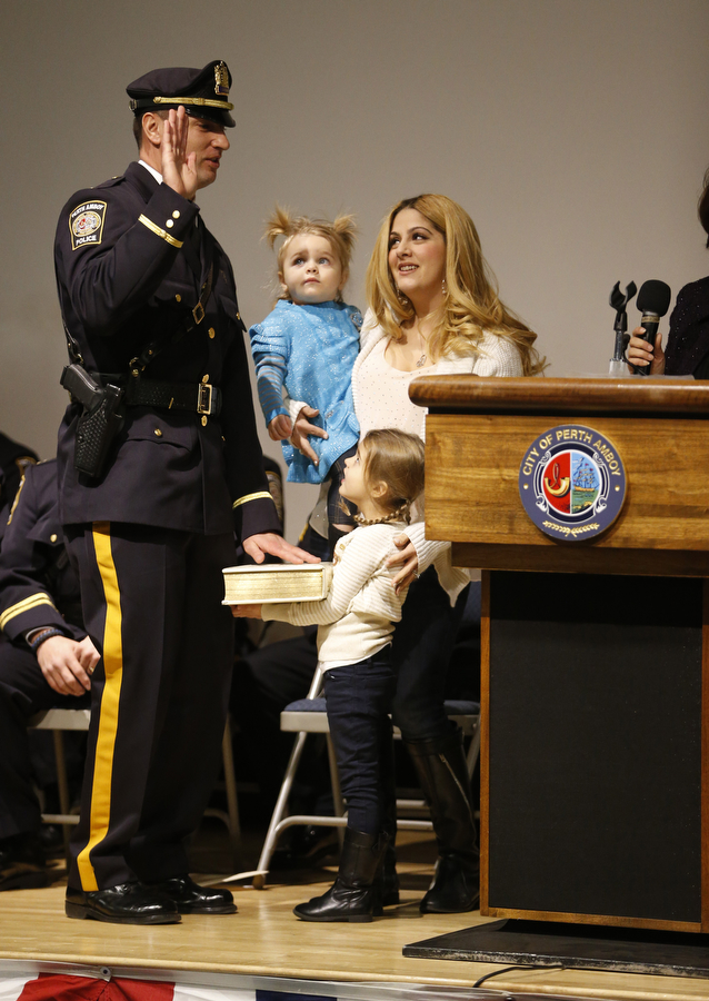 Perth Amboy police department promotion ceremony